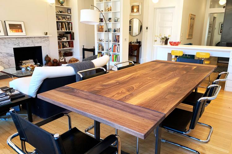 Walnut table